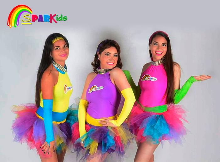 Show Infantil con Sparkids - Plaza Norte