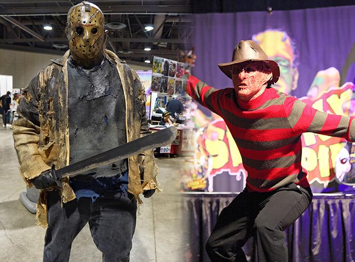 Freddy Krueger y Jason en Plaza Norte  - Plaza Norte