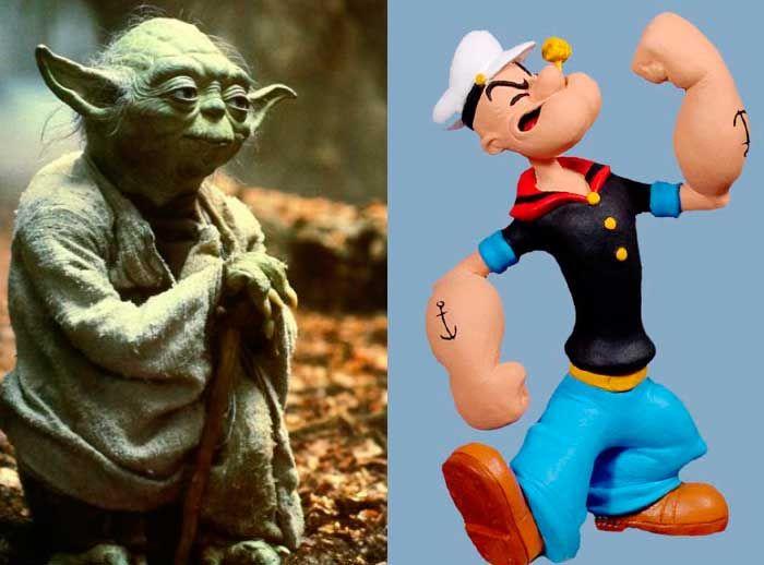 Tómate fotos con el Maestro Yoda  - Plaza Norte