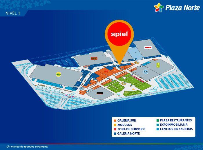 SPIEL - Mapa de Ubicación - Plaza Norte