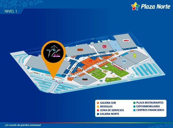 TIO SEBAS 'CAJA CHINA' - Mapa de Ubicación - Plaza Norte