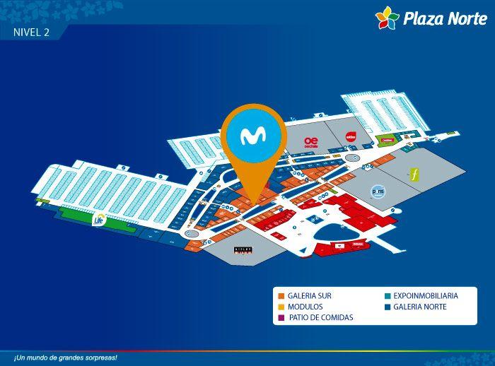 MOVISTAR (CENTRO DE INFORMACIÓN) - Mapa de Ubicación - Plaza Norte