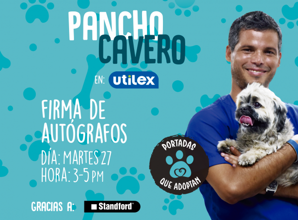 Firma de autógrafos con Pancho Cavero - Plaza Norte
