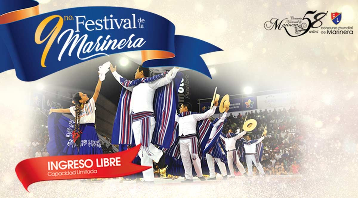 9no Festival de la Marinera - Plaza Norte