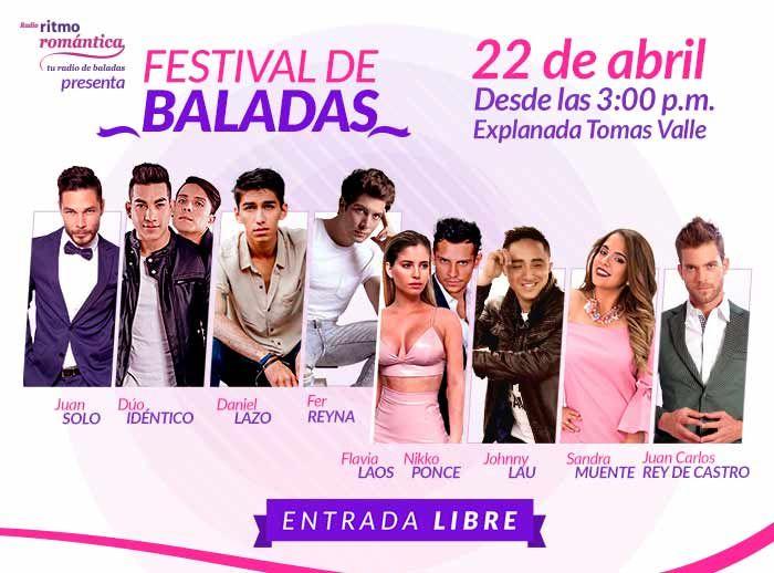Festival de Baladas  - Plaza Norte
