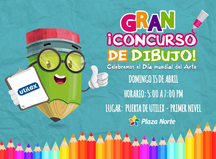 Concurso de dibujo Utilex - Plaza Norte