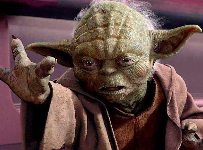 Personaje de Maestro Yoda - Plaza Norte