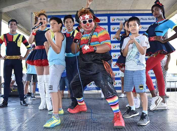 Show infantil Arena Kids - Plaza Norte