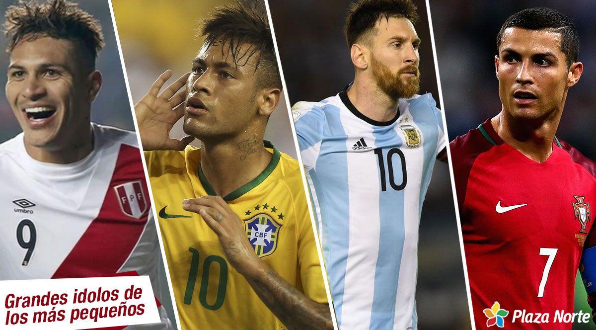 Conoce a los 4 futbolistas favoritos de tu hijo - Plaza Norte