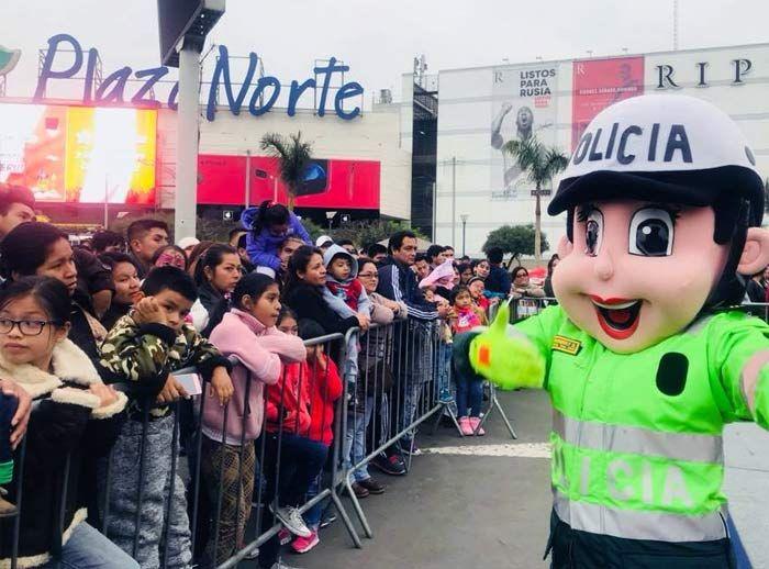 Show Infantil de la Policía Nacional de Transito  - Plaza Norte
