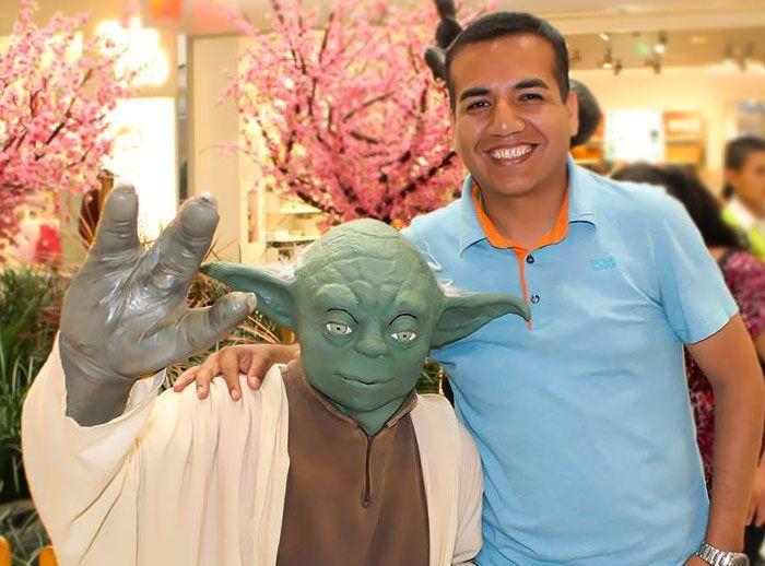 Conozca al Maestro Yoda - Plaza Norte