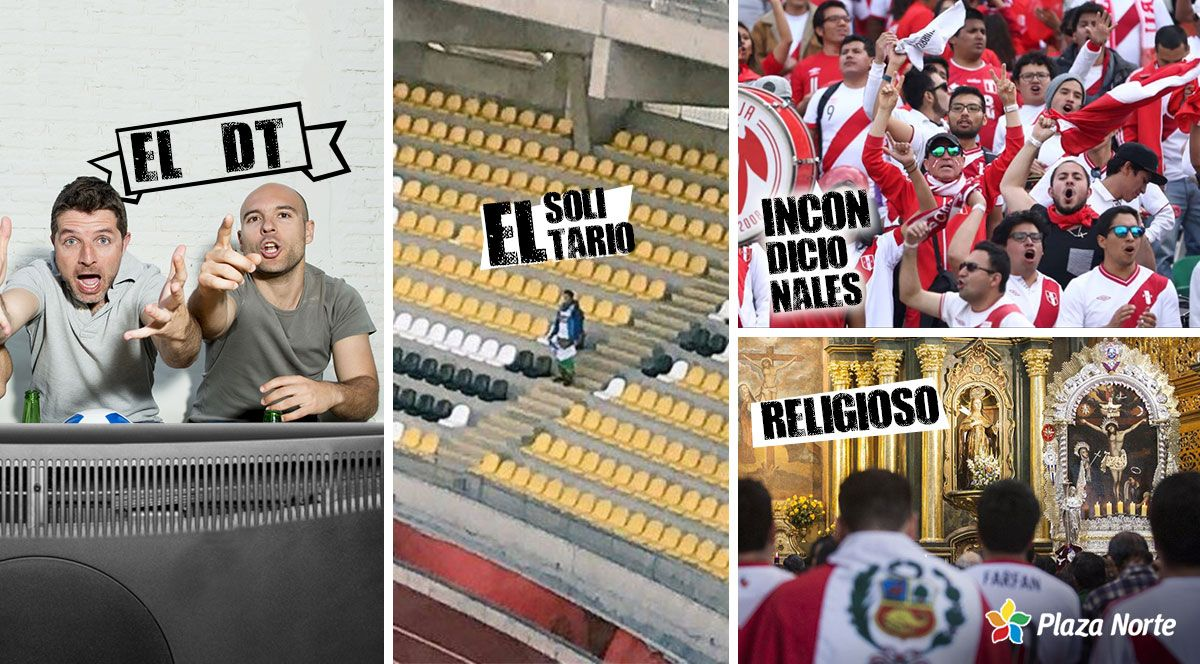 4 tipos de hinchas que existen en el fútbol - Plaza Norte