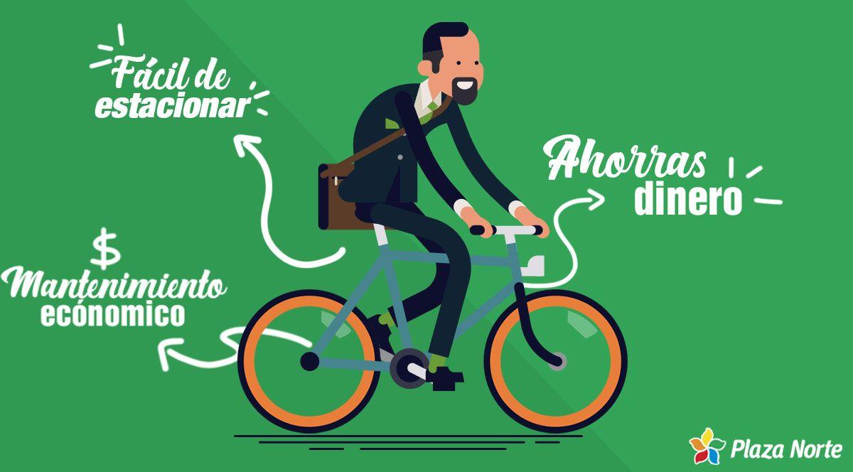 3 formas ideales de ahorrar dinero manejando una bicicleta - Plaza Norte