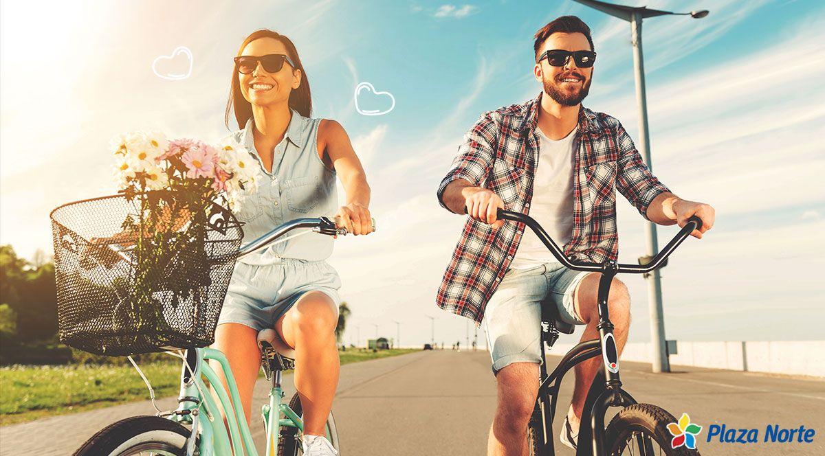 4 importantes beneficios de manejar bicicleta - Plaza Norte