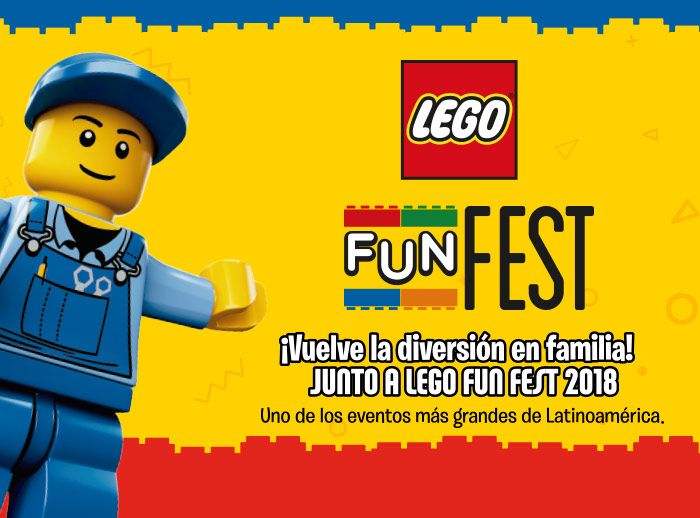 Fun Fest Lego  - Plaza Norte