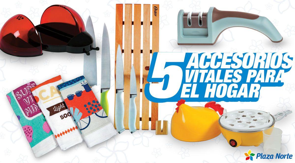 5 accesorios vitales que dan color a tu cocina - Plaza Norte