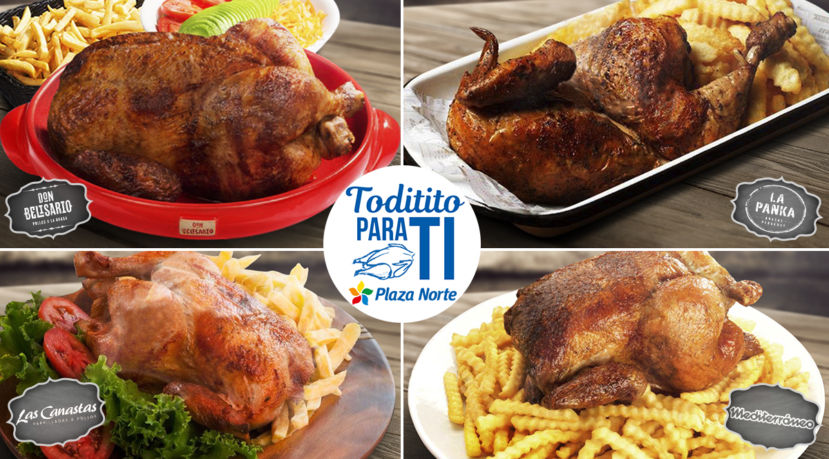 4 restaurantes imperdibles para probar un rico Pollo a la Brasa - Plaza Norte