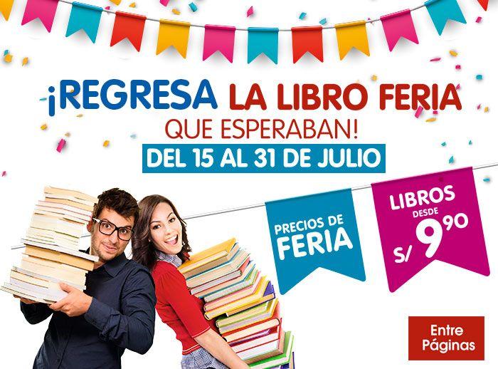 La libro Feria de Entre Páginas - Plaza Norte