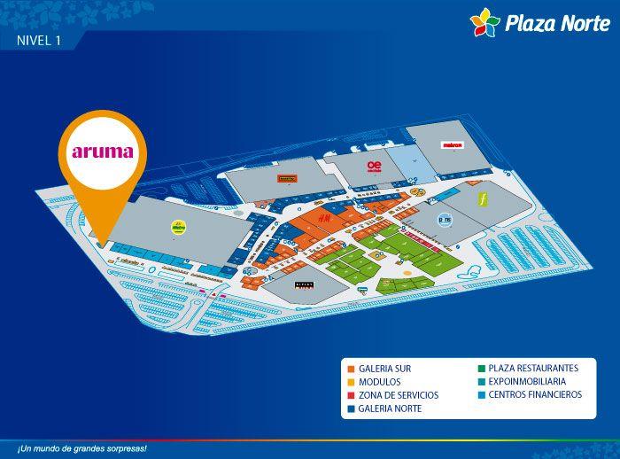 Aruma - Mapa de Ubicación - Plaza Norte