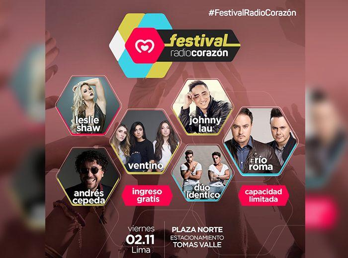 Festival Radio Corazón  - Plaza Norte