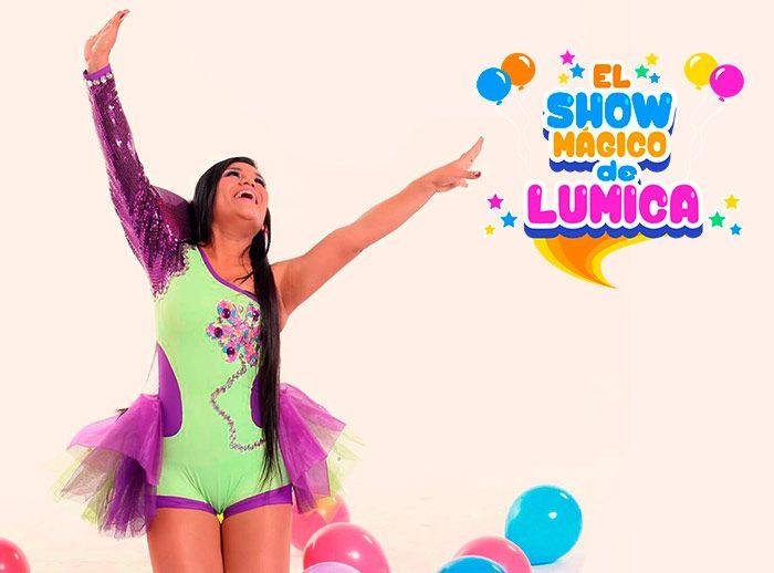Show de Lúmica  - Plaza Norte