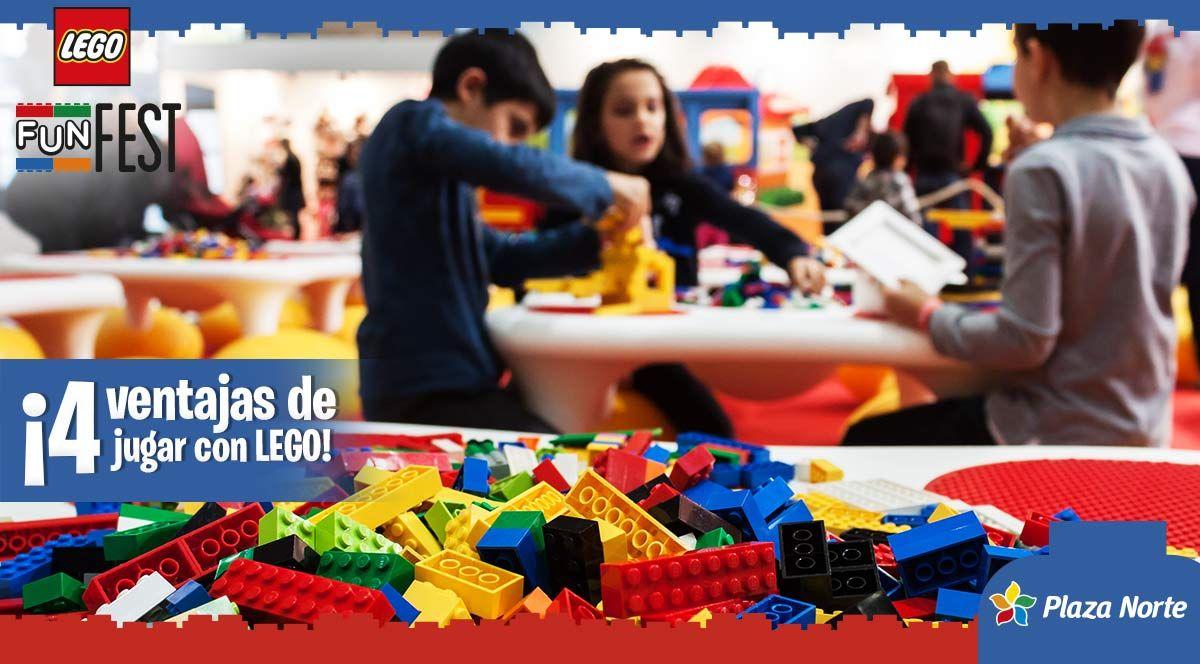 4 beneficios de jugar con LEGO  - Plaza Norte