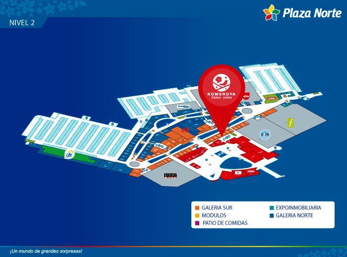 Starbucks  - Mapa de Ubicación - Plaza Norte