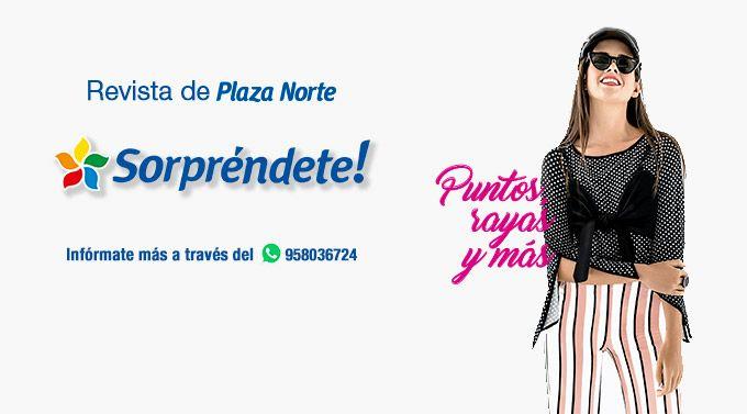 REVISTA SORPRÉNDETE OCTUBRE  - Plaza Norte - Plaza Norte