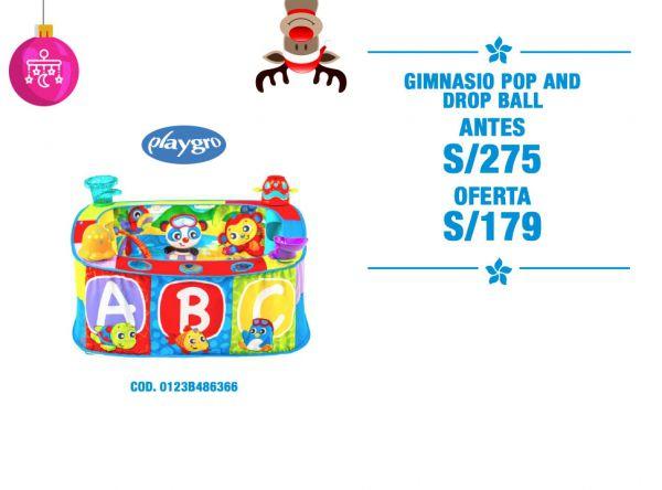4adba983e GIMNASIO POP AND DROP BALL A - Plaza Norte. baby infanti bebé