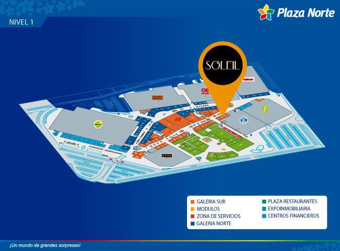 Soleil - Mapa de Ubicación - Plaza Norte