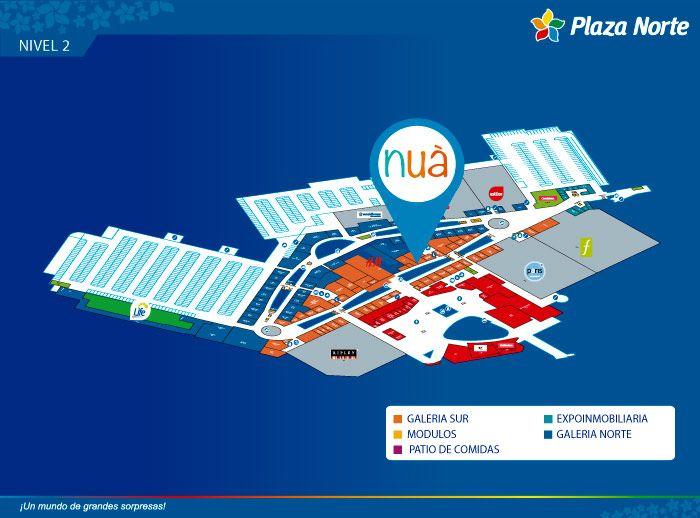 Nua  - Mapa de Ubicación - Plaza Norte