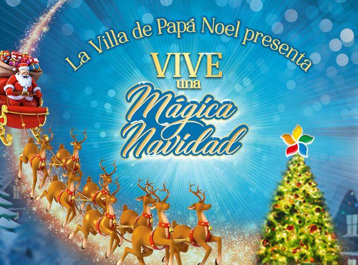 VILLA DE PAPÁ NOEL  - Plaza Norte