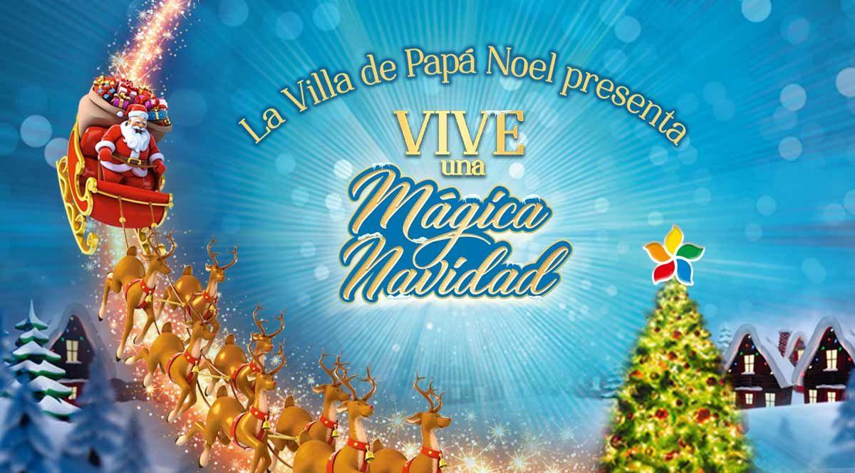 VILLA DE PAPA NOEL EN PLAZA NORTE - Plaza Norte