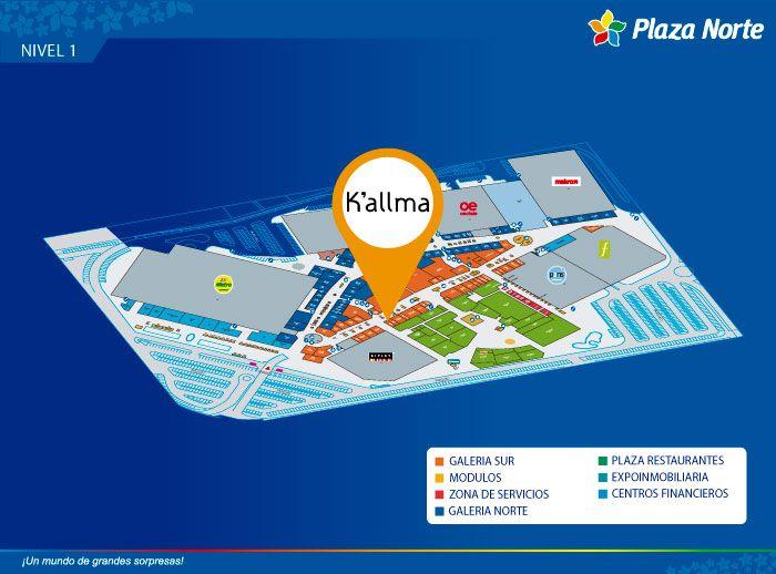 KALLMA - Mapa de Ubicación - Plaza Norte