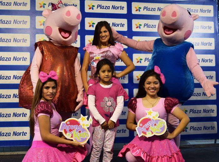 EXHIBICIÓN DE BAILE CON ARENA KIDS  - Plaza Norte