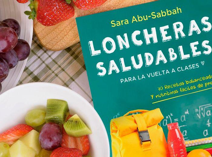 """ENTRE PÁGINAS- LONCHERAS SALUDABLES """"SARA ABU SABAAH"""" - Plaza Norte"""