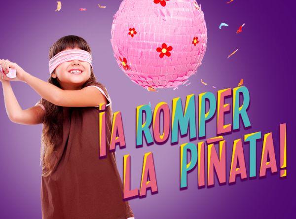 A romper la piñata  - Plaza Norte