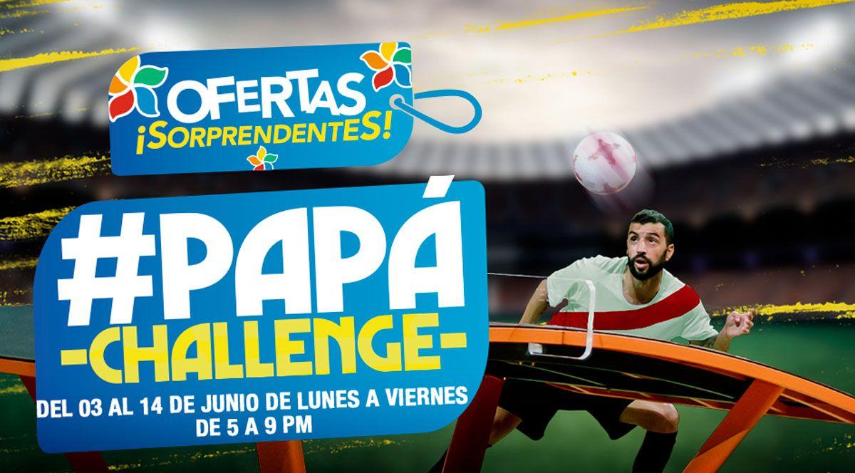 PAPÁ CHALLENGE  - Plaza Norte