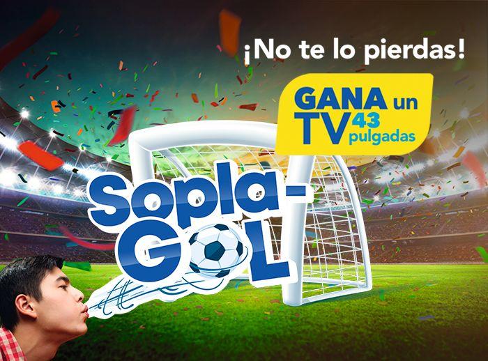 SOPLA GOL  - Plaza Norte