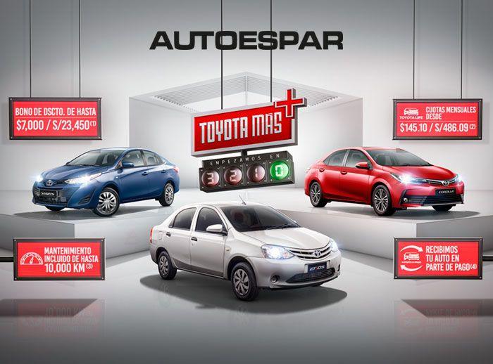 AUTOESPAR - TOYOTA MÁS - Plaza Norte