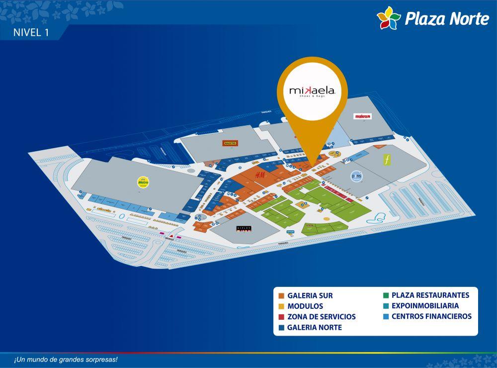MIKAELA  - Mapa de Ubicación - Plaza Norte