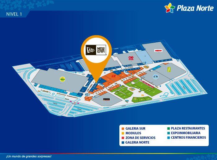 NEW ERA - Mapa de Ubicación - Plaza Norte