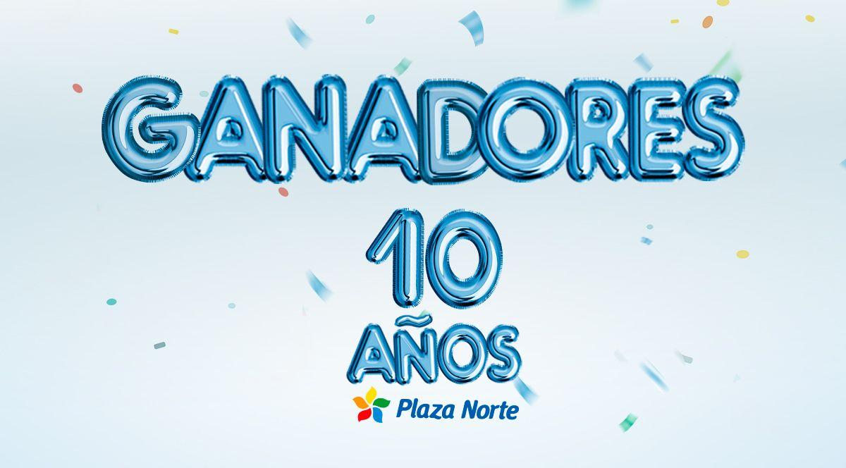GANADORES - CONCURSO 10 AÑOS PLAZA NORTE  - Plaza Norte