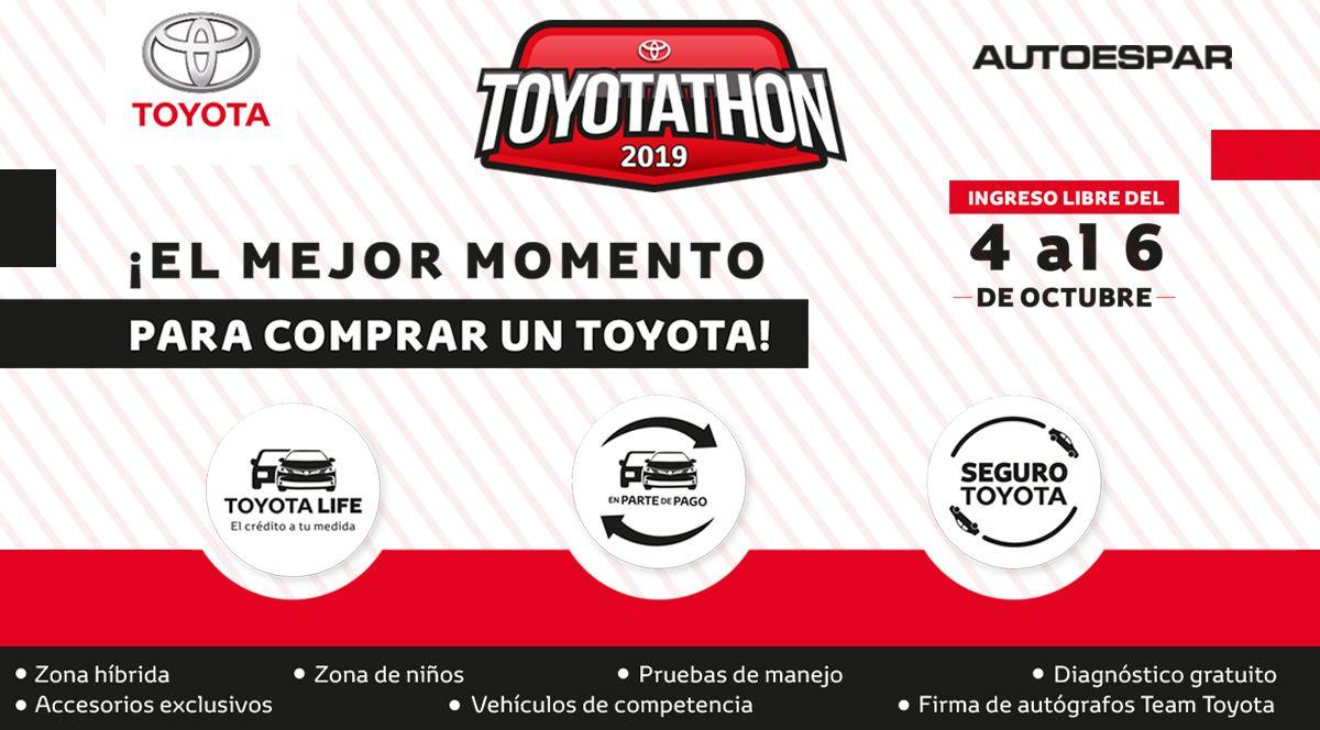 TOYOTATHON ¡EL MEJOR MOMENTO PARA COMPRAR! - Plaza Norte