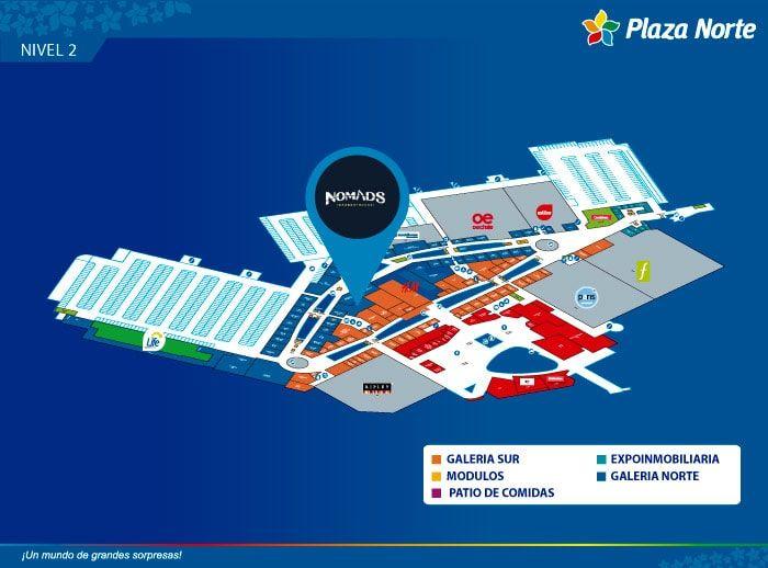 NOMADS BARBERTRUCKS - Mapa de Ubicación - Plaza Norte