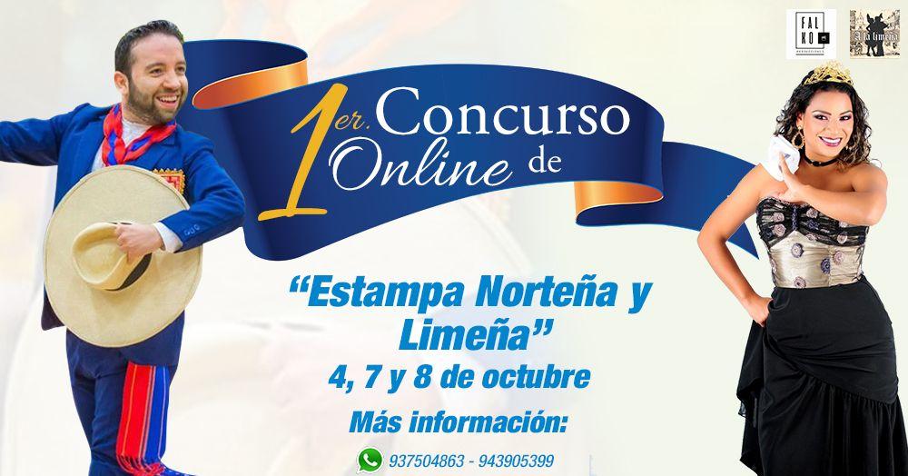 CONCURSO ONLINE DE MARINERA - Plaza Norte