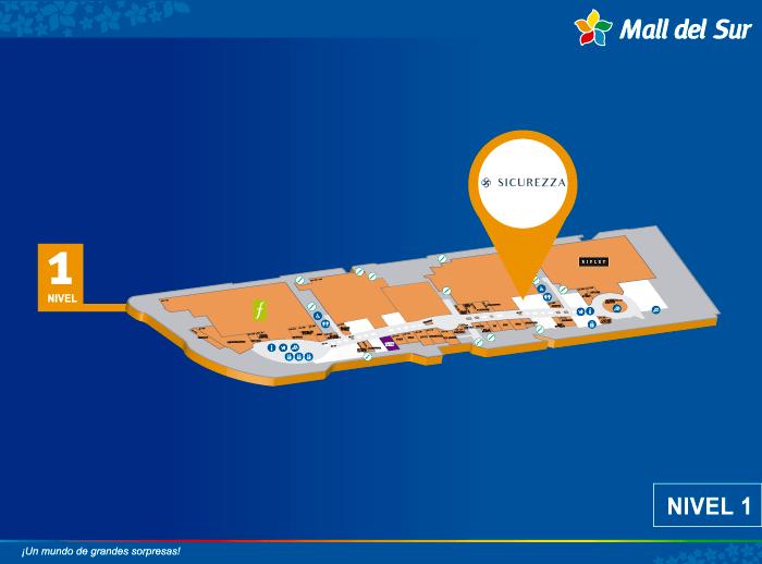 SICUREZZA - Mapa de Ubicación - Plaza Norte