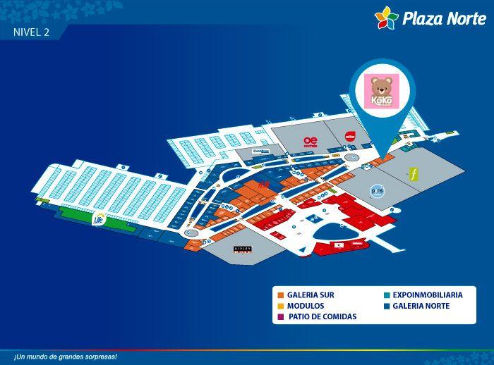 KOKO STATION - Mapa de Ubicación - Plaza Norte
