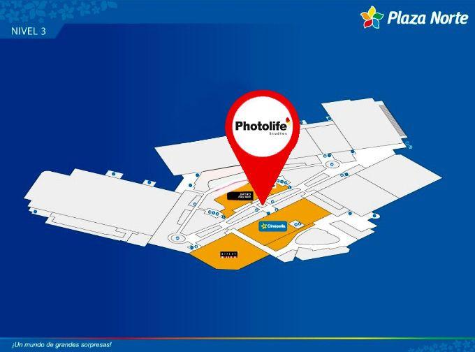 Photolife - Mapa de Ubicación - Plaza Norte