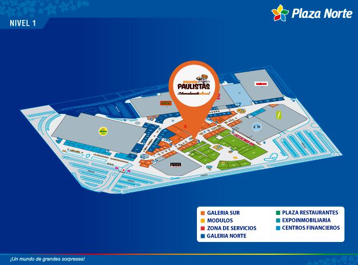 EMPANADAS PAULISTA  - Mapa de Ubicación - Plaza Norte